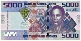 Sierra Leone - 5000 Leones - 2013 - Pick 32.b - Serie GQ - 5 000 - Sierra Leone