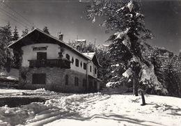 CANDRIAI-TRENTO-RIFUGIO SOSAT-CARTOLINA VERA FOTO-VIAGGIATA IL 31-12-1957 - Trento