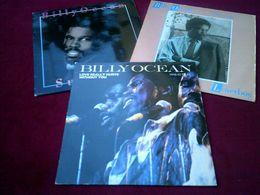 BILLY  OCEAN  ° COLLECTION  DE 9 / MAXIS 45 TOURS - Colecciones Completas