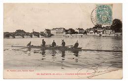 49 - SAUMUR - Courses Nautiques - Animée - 1903 (I121) - Saumur