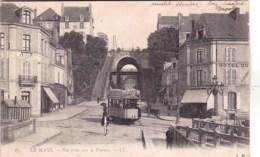72 - Sarthe -  LE MANS  - Vue Prise Vers Le Tunnel - Tramway - Le Mans
