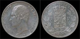 Belgium Leopold I 5 Frank 1849 - 1831-1865: Leopold I