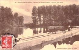 25 - Doubs -  BESANCON LES BAINS  -  Le Canal Du Rhone Au Rhin A Gouille Pres Beure - Besancon