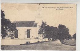 Gouverneurslaan Met Protestantsche Kerk Te Makassar - 1915 Nach Königsberg / Deutschland Via Holland - Indonesien