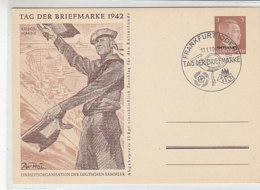 OSTLAND P 3 /03 Blanko Stempel FRANKFURT / ODER Tag Der Briefmarke 1942 - Bezetting 1938-45