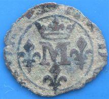 DOMBES,  PRINCIPAUTÉ DE DOMBES,  MARIE DE BOURBON-MONTPENSIER, Liard, Trévoux,  B - 476-1789 Monnaies Seigneuriales