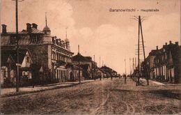 ! Alte Ansichtskarte Baranowitschi, 1917, Feldpost, Weißrußland, Hitzacker - Belarus