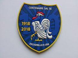 Patch 36ème Escadron De Détection Et De Contrôle Aéroportés – Centenaire Escadrille SAL58 - Aviation