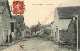70.  PIERRECOURT .  Grande Rue . - France