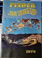 Rare Programme D'origine Cirque Pinder Jean Richard De 1979 - Programas