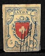 E-513 - SWITZERLAND - SUISSE - 1851 - GOOD OLD FORGERY - FAUX - FAKE - FALSE - FALSCH - Non Classificati