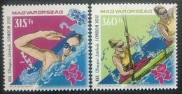 115.HUNGARY 2012 SET/2 STAMP LONDON OLYMPICS . MNH - Unused Stamps