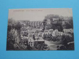 Grand Vallée De La Pétrusse ( Schaa....& Dathe ? ) Anno 19?? ( Zie Foto ) ! - Luxemburg - Town