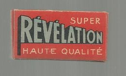 BOITE DE 5 LAMES DE RASOIR , Compléte, Lame , SUPER REVELATION, Frais Fr 1.55 E - Hojas De Afeitar