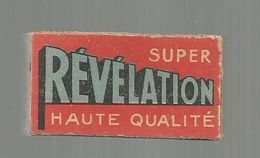 BOITE DE 5 LAMES DE RASOIR , Compléte, Lame , SUPER REVELATION, Frais Fr 1.55 E - Lames De Rasoir