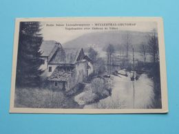Mullerthal - Grundhof / Petite Suisse Luxembourgeoise - Vogelsmühle / Château ...( W. Capus ) Anno 19?? ( Zie Foto ) ! - Muellerthal
