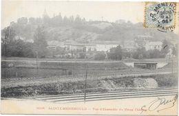 SAINTE MENEHOULD : VUE D'ENSEMBLE DU VIEUX CHATEAU - Sainte-Menehould