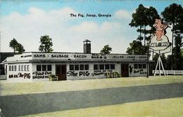 The Pig Jesup  Georgia  Cochon  Bar - Etats-Unis