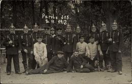 Photo Cp Deutsche Soldaten In Uniformen, Gruppenaufnahme, Fotograf H. Eberhard Metz - Militaria