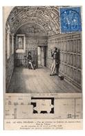 45 LOIRET -  LE VIEIL ORLEANS Plan Et Intérieur Du Cabinet De Jeanne D'Arc, Rue Du Tabour - Orleans
