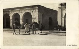 Cp Port Sudan Ägypten, Ortspartie - Cartes Postales