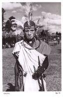 Kikiyu Kenya Uganda African Tribesman Real Photo Postcard - Uganda