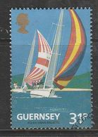 Guernsey 1991 The 100th Anniversary Of The Guernsey Yacht Club 31p Multicolored SW 520 Used - Guernsey