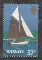 Guernsey 1991 The 100th Anniversary Of The Guernsey Yacht Club 37p Multicolored SW 521 Used - Guernsey
