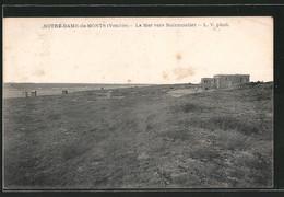 CPA Notre-Dame-de-Monts, La Mer Vers Noirmoutier - Noirmoutier