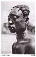 African Congo Woman Real Photo Old Postcard - Non Classés