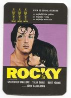 CALENDAR / KALENDER, ROCKY MOVIE FILM, Year 1978 - Calendriers