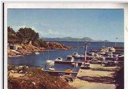 Cpsm 83 Les Issambres , Les Calanques - Le Port Saint Ferreol, Voyagée - Les Issambres