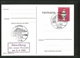 AK Mit Sonderstempeln, Mayen, Tag Der Offenen Tür Im Neuen Postamt 1968 Und Einweihung Des Neuen Postamts - Ansichtskarten