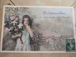 Ansauvillers Je Vous Envoie Ces Fleurs - Francia