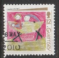 Guernsey 1991 Christmas Stamps 21p Multicolored SW 538 O Used - Guernsey