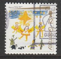 Guernsey 1991 Christmas Stamps 21p Multicolored SW 541 O Used - Guernsey