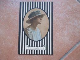 1917 Donnine Woman CLAUDINE Donna Cappello Viaggiata Affrancata - Non Classificati