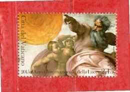 (Ni) Vaticano ** - 2015 - ANNO INTERNAZIONALE Della LUCE. MNH - Vaticano