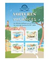 Lot Des 3 Collectors Voitures De Vacances Plus Les 12 Cartes Correspondant Aux Timbres - Collectors