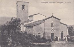 MONTAGNA PISTOIESE - SARRIPOLI - LA CHIESA - (PISTOIA) - VIAGGIATA 1924 - Pistoia