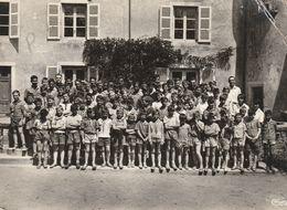 SALORNAY Sur GUYE - CPSM : Colonie Notre Dame - Amicale Du Rayon De SAINT MANDE - Autres Communes