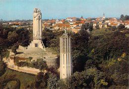 01 - Miribel - Le Mas Rillier - Sanctuaire De Notre Dame Du Sacré Coeur - La Vierge Monumentale - Le Campanile - Altri Comuni