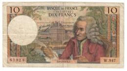 France 10 Francs 06/12/1973 - 1962-1997 ''Francs''