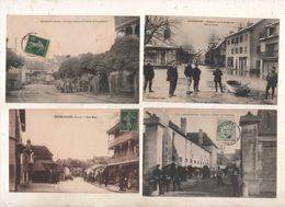 SUPER LOT DE 100  CPA DU DOUBS    25 - 100 - 499 Postkaarten