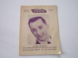 CHARLES VERSTRAETE Sur Disques PACIFIC  - Supplément N°1 - Saison 1954-1955 - Les Derniers Disques Parus (8 Pages) - Music & Instruments