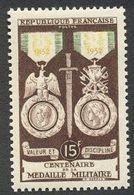 France N°927 Neuf ** 1952 - France
