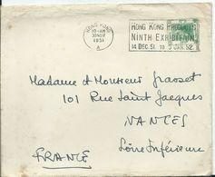 HONG KONG - Lettre à Destination De La FRANCE - 1951 - 1997-... Chinese Admnistrative Region