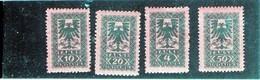 CG5 - 1922 Albania - Stemma - Albanie