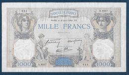 1000 F  Cérès Et Mercure  Du  18 - Avril - 1940 - 1 000 F 1927-1940 ''Cérès Et Mercure''