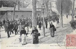45 - LOIRET - BRIARE - Sortie Des Ouvriers De La Fabrique - Montargis